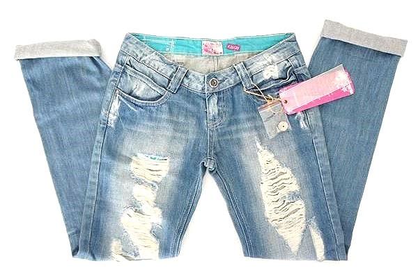 damen destroyed boyfriend jeans h ft hose denim fetzen xs 26 l cher trend risse ebay. Black Bedroom Furniture Sets. Home Design Ideas